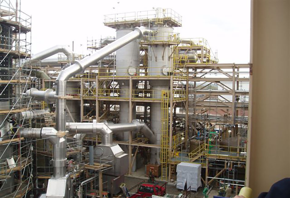 DuPont Spent Acid Recovery System -SARS- Project