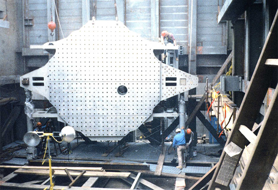 NASA Destructive Testing Chamber