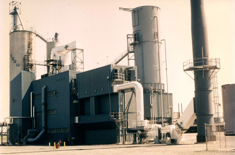 S.O.H.I.O. Fluidized Bed Plant