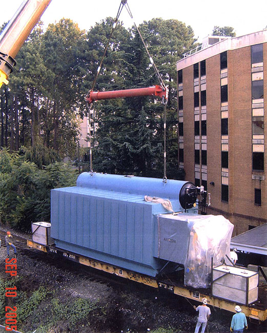 University of Virginia Package Boiler Install