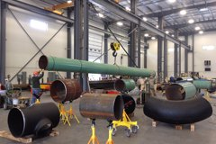 Dehydration Station Large Bore Fabrication