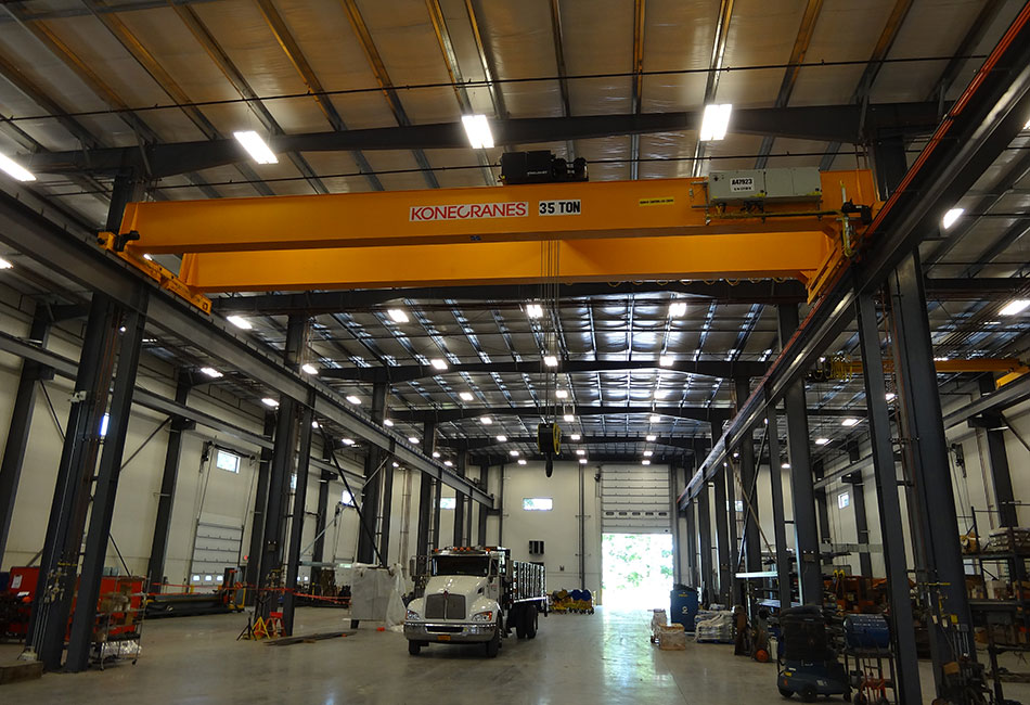35ton Bridge Crane Capacity