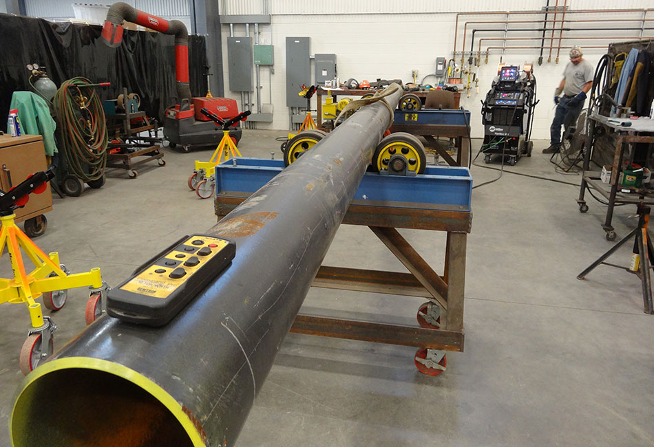 Gas Transmission Station Pipe Fabrication