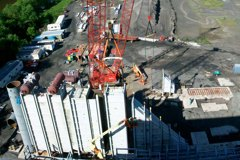 UGI Hunlock Creek - Sitework & HRSG Erection