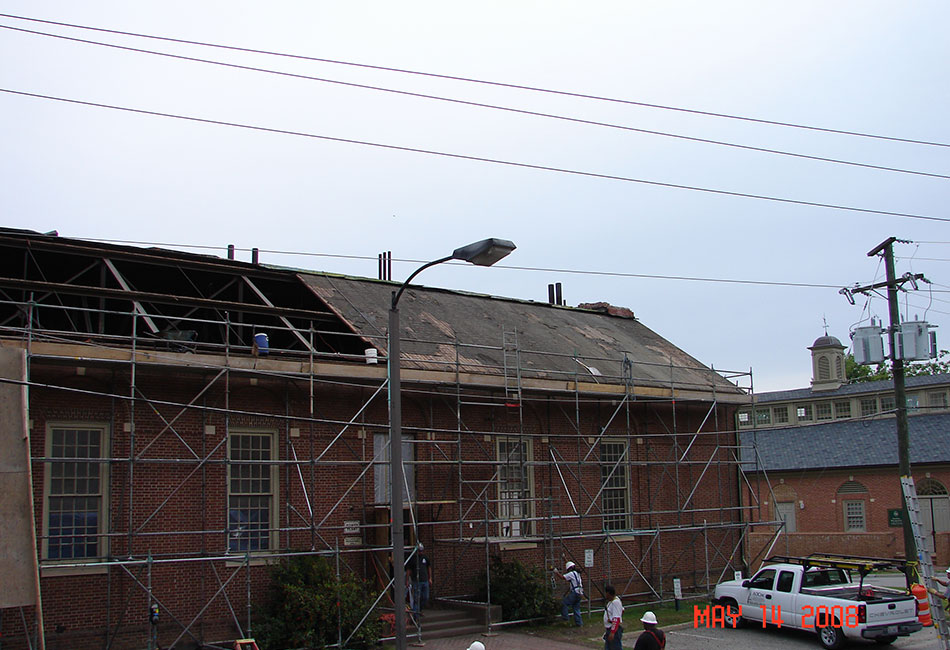 College of William and Mary - Roof & Building Work