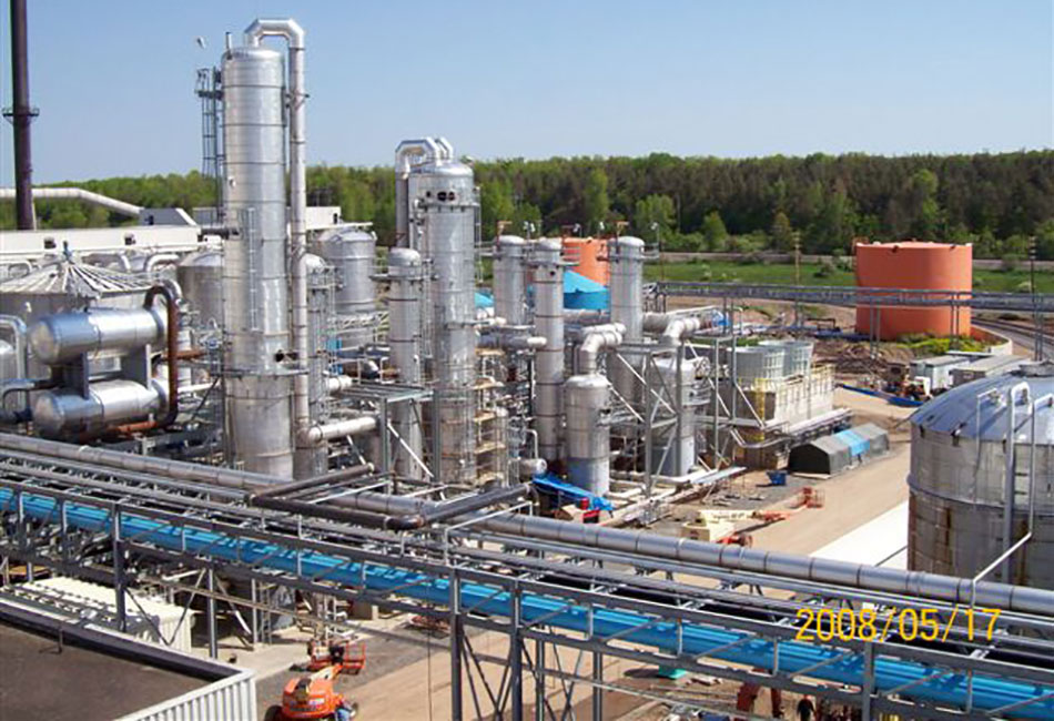 Bio Ethanol Fuel >> Process Piping | Frank Lill and Son | Victor, NY